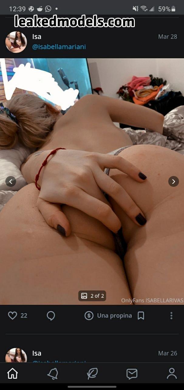 Isa Rivas – isabellarivaaas OnlyFans Nude Leaks (35 Photos)
